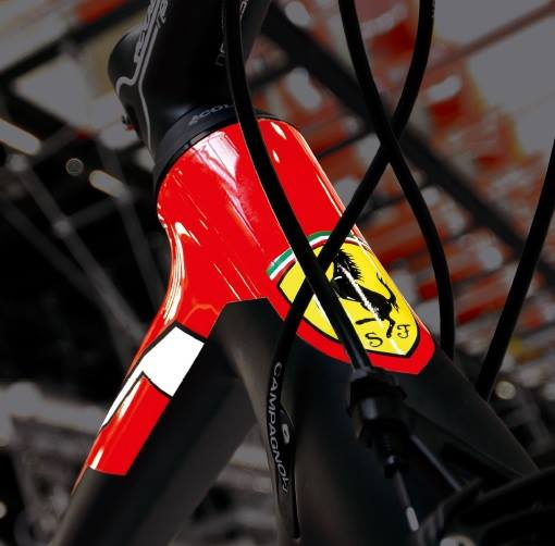 Ferrari, made in Colnago.