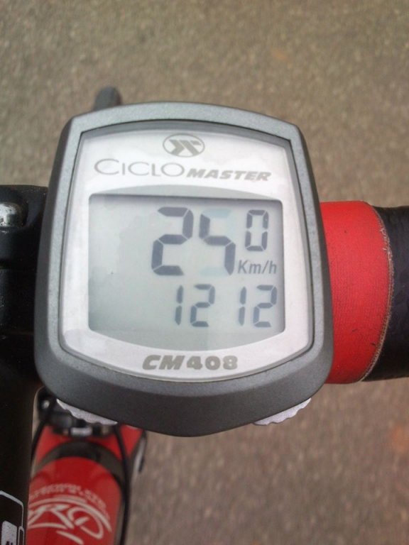 ...tuhle rychlost dnes vidím poprvé...