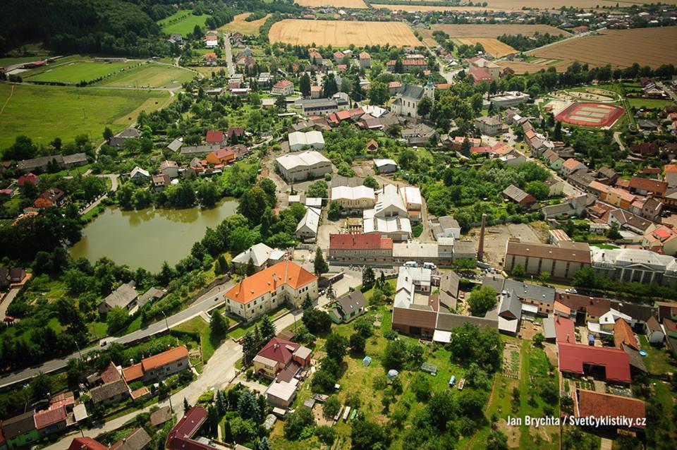 Šternberk ze Šternberku... teda co to kecám foto pan Brychta z vrtulníku :)