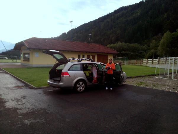 Ráno, příprava na poslední alpskou bitvu.