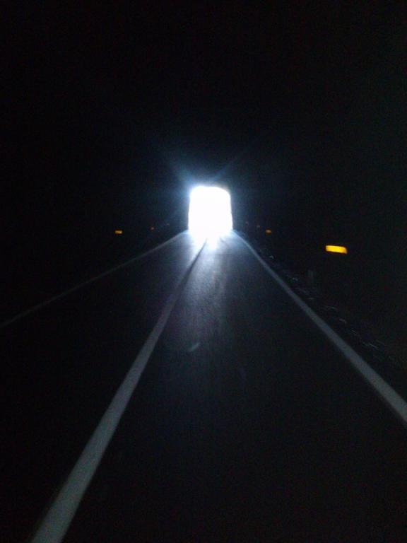 ...vidím světlo na konci tunelu...