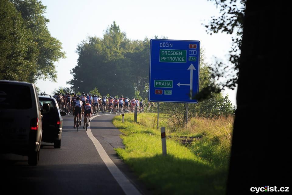 ... tempo od startu bylo hodně pomalé, nikdo nikam nespěchal, každý měl respekt z toho, co nás čeká ...