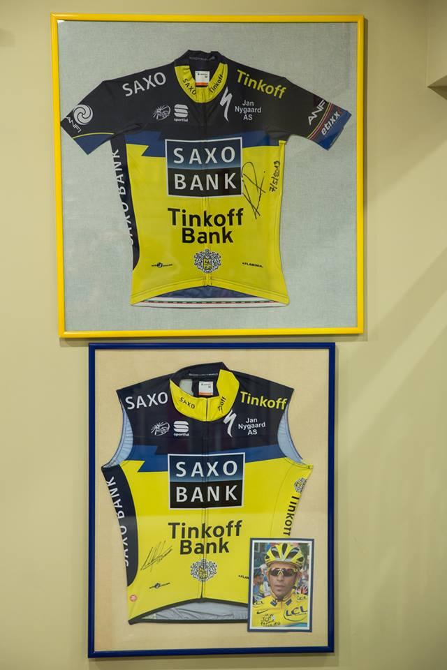 ... svlíkli jsme ho už z několika dresů :-) ...případně El Pistolera kolegu s týmu pana Tinkoffa