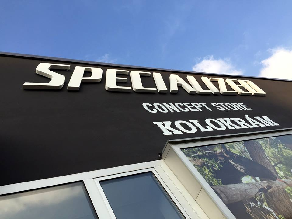 ... Specialized Concept Store Kolokrám, nyní v novém kabátku ...