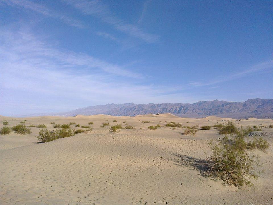 ... písek všude, kam se podíváš ...