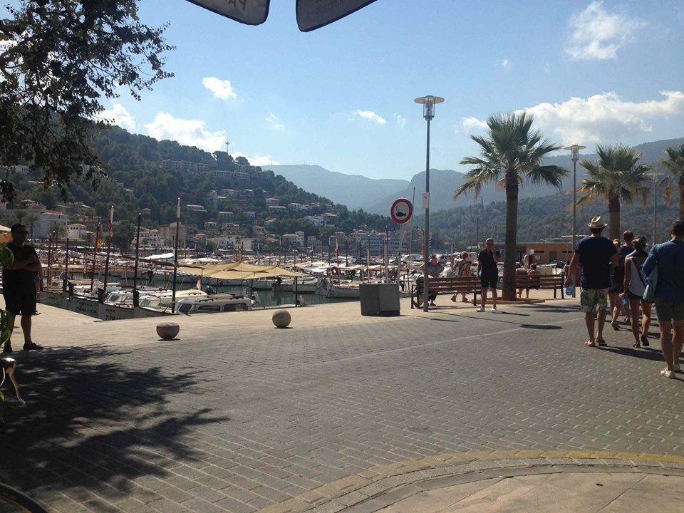 ... prostě volný den v Port de Soller, jak má být ...