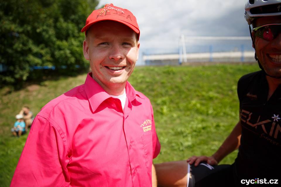... ne, je to opravdu on, Jan Tančin, rejža povedeného a dnes již zavedeného maratonu ...