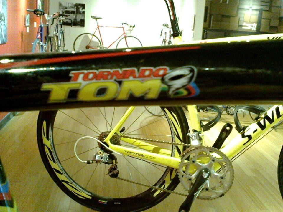 ... Tom Boonen v roce 2008 spoléhal na tento stroj v závodě Paříž - Roubaix, jak myslíte, že dopadl? ...